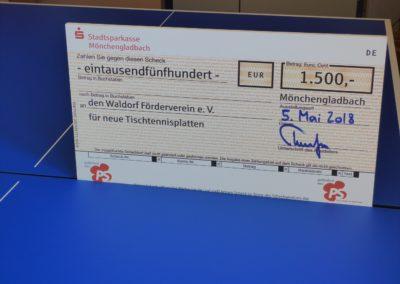 Spende der Stadtsparkasse Mönchengladbach