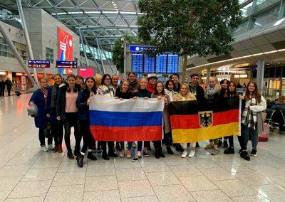Deutsch-Russischer Schüleraustausch 2019/2020