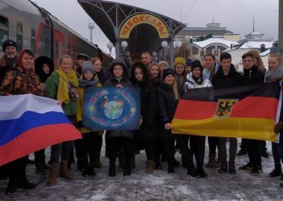Austausch nach Russland/Tscheboksary