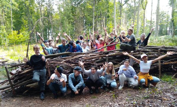 Forstpraktikum der Klasse 8