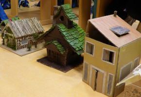 Rückblick auf die Hausbau-Epoche in Klasse 3